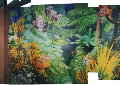 DentistMuralRainforest